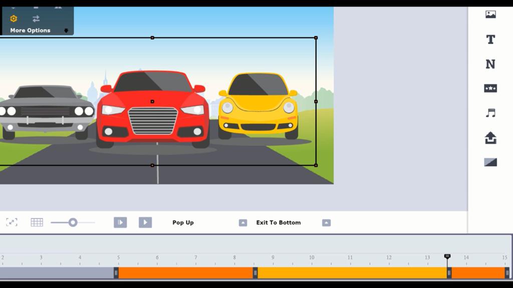 animated bar graph lesson 19