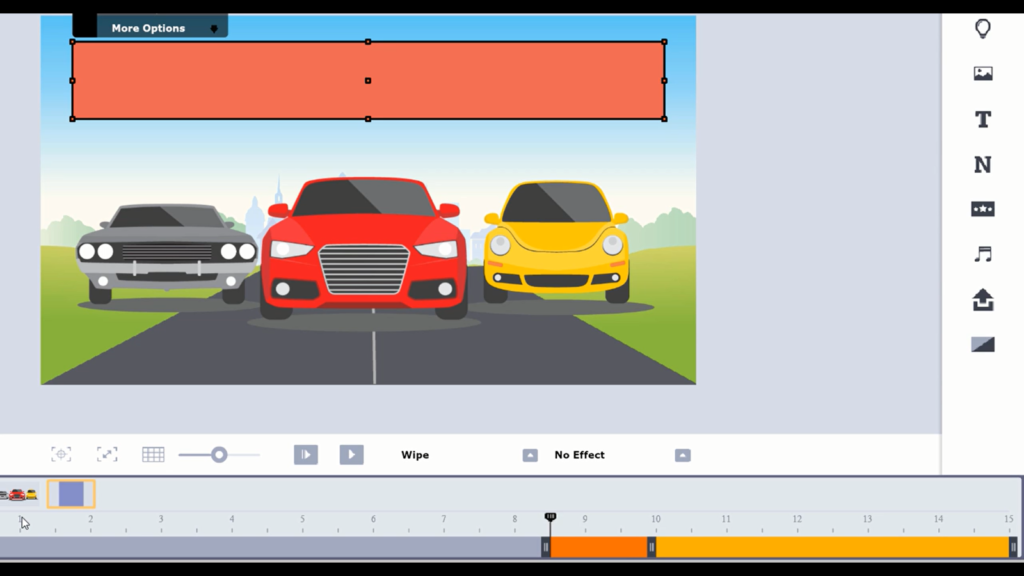 animated bar graph lesson